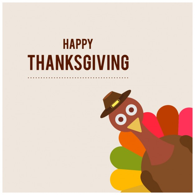 Thanksgiving day Free Vector