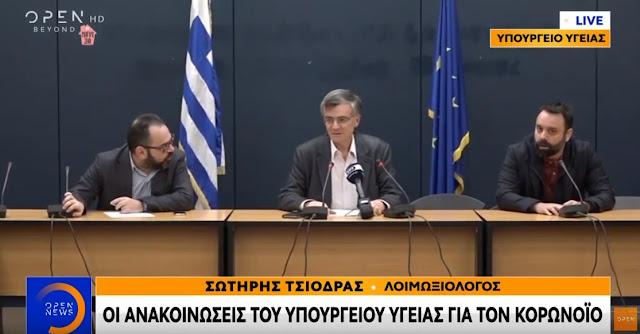 Στα 331 έφτασαν τα κρούσματα στην Ελλάδα (βίντεο)