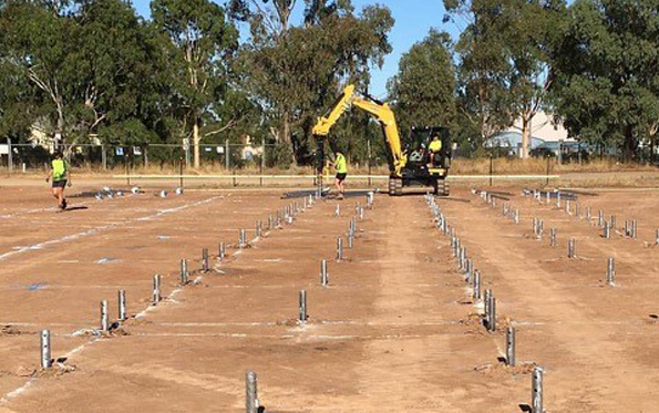 The advantages to screw piling - Digga Australia - Review