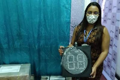 hoyennoticia.com, Riohacha ya tiene tableros electrónicos en los semáforos
