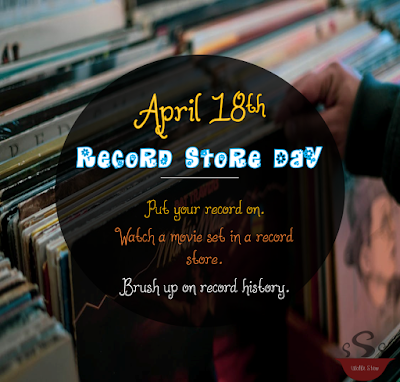 Put your record on!  Listen to your favorite tunes, brush up on record history, watch a movie set in a record store.