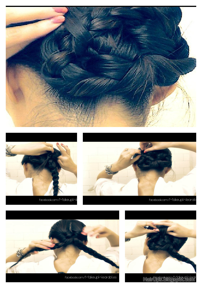 3 Strand Braided Bun Hairstyles Quick And Easy Brdial
