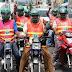 Motoristas deberán usar chalecos con número de identificación dispuso el presidente Abinader