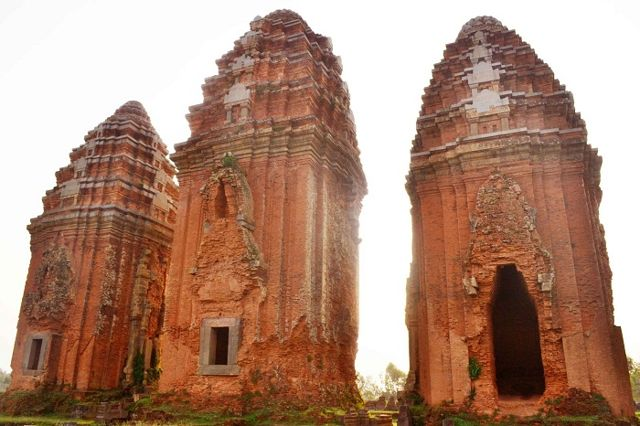 Mysterious Cham towers in Binh Dinh