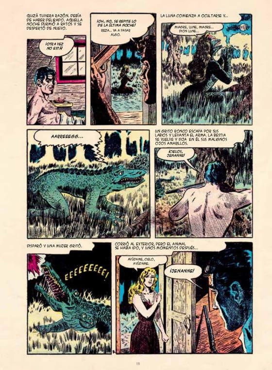 La novia del pantano, Forbidden Worlds (1954)