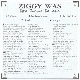 Ziggy Was - (1995) Two Turns To One_lyrics