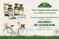 Concorso Antica Erboristeria : ogni settimana in palio 2 Bici Doniselli