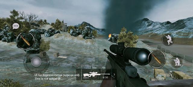 SICO Mobile Game Maps parvata