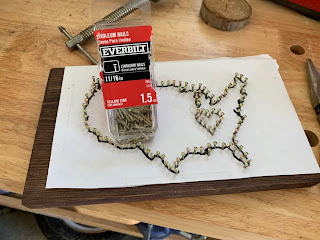 Patriotic String Art