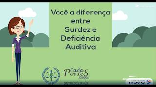 Você sabe a diferença entre surdez e deficiência auditiva?