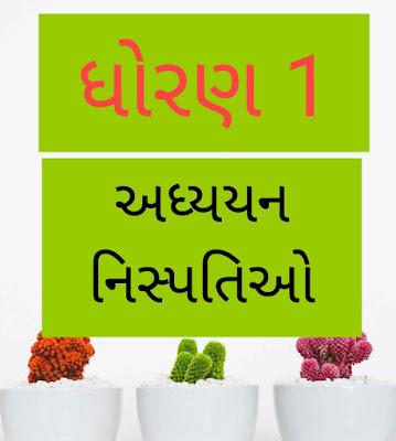 Std 1 Adyayan Nispati  All Subjects PDF