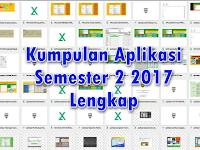 Download Kumpulan Aplikasi Pendidikan Semester 2 2017 Lengkap