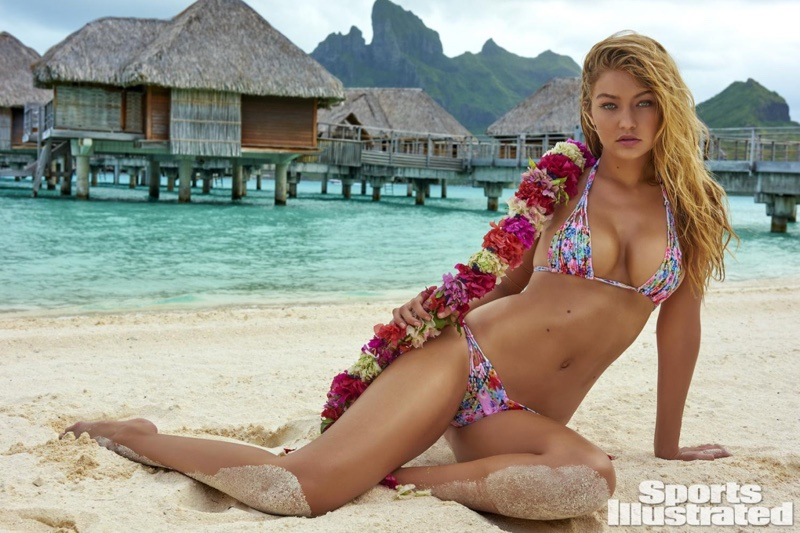 For gigi hadid sports illustrated nude
