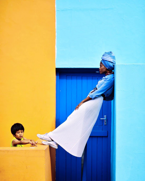 Safari Fusion blog >< [Colour crush] Yellow | Bright and colourful architecture of Bo Kaap Cape Town, South Africa