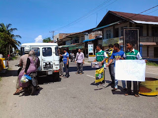 Sejumlah Organisasi Di Abdya Peduli Galang Dana Untuk Rohingya