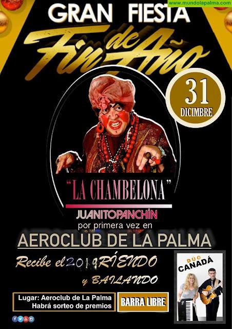Gran Fiesta de Fin de Año en el Aeroclub de La Palma