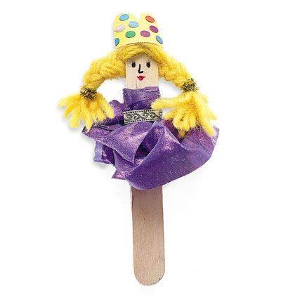Princess Pinky Puppet