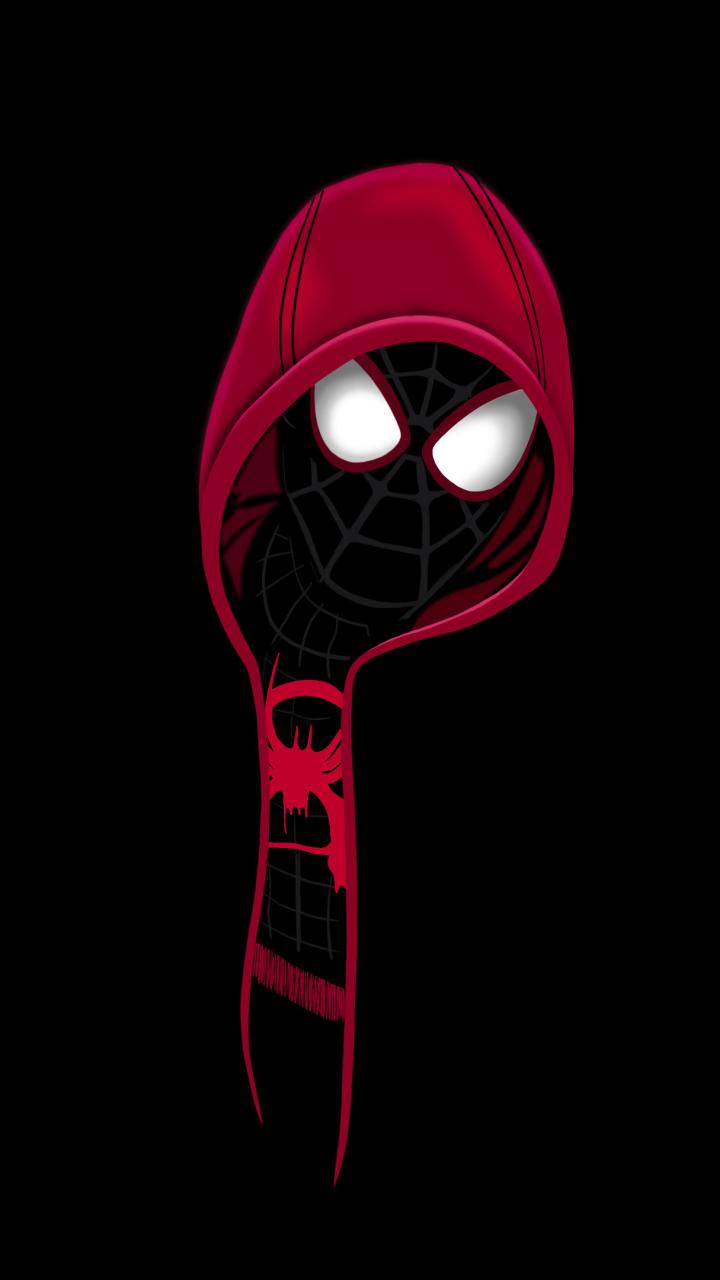 spider-man dark wallpaper
