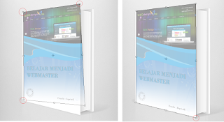 Cara Membuat Mockup Cover Buku di Photoshop, setting mockup di phosothop