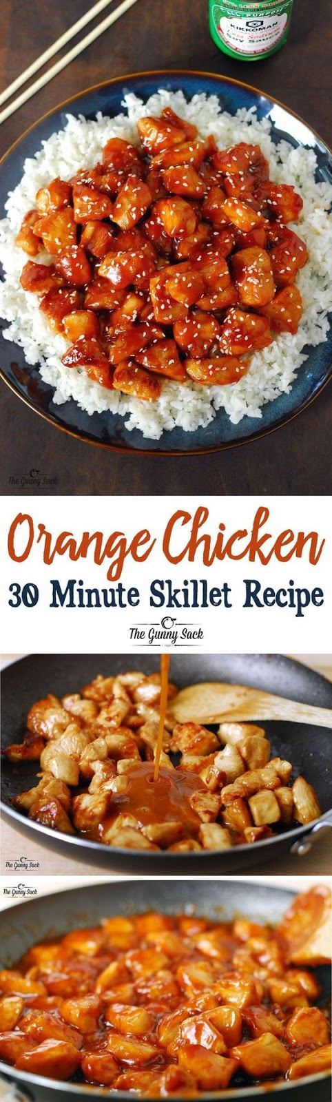 Orange Chicken 30 Minutes Skillet Recipe