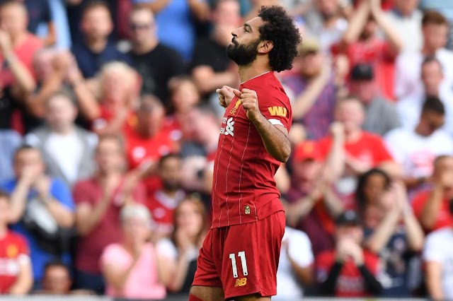 صلاح أفضل لاعب في ليفربول خلال شهر أغسطس