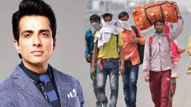 """लॉकडाउन में लाखों मजदूरों के भगवान बने अभिनेता """"सोनू सूद"""""""