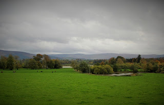 Viewacross the hills in Russborough House