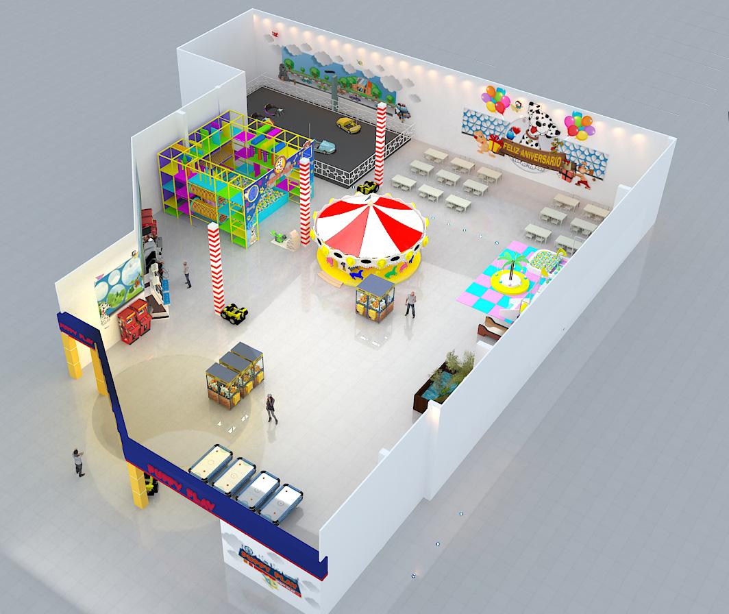 isometrica parque shopping