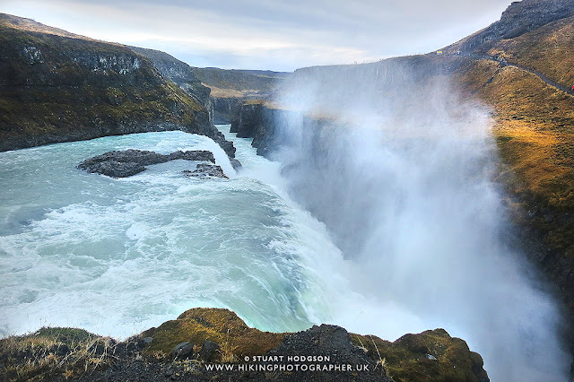 Gullfoss waterfall, Golden circle Tour, Þingvellir National Park, Iceland, Tour, Trip