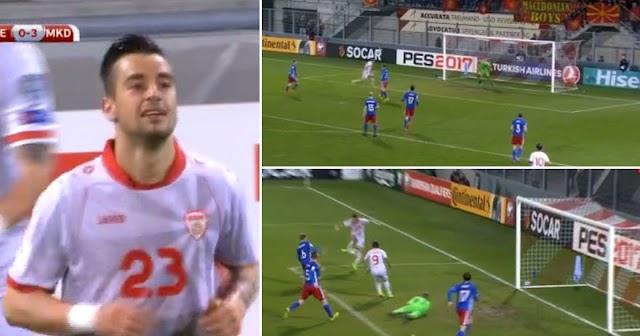 Fußball: Liechtenstein unterliegt Mazedonien 0:3