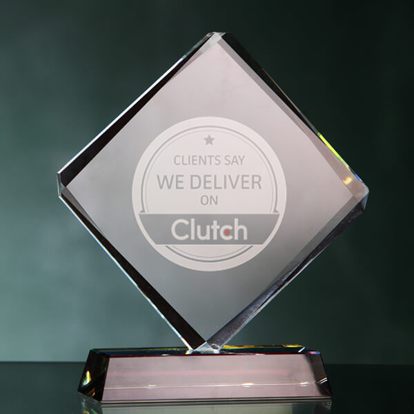 TBH Creative's 2020 Clutch award for one of the 1,000 best B2B service providers in the the world