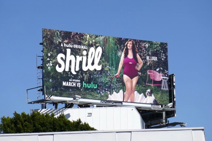 Shrill season 1 billboard