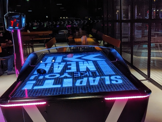 Gutterball Royal Quays Review   - air hockey