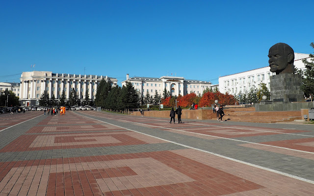 Улан-Удэ, площадь Советов