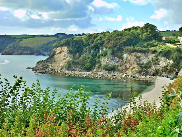 Duporth Beach south Cornwall