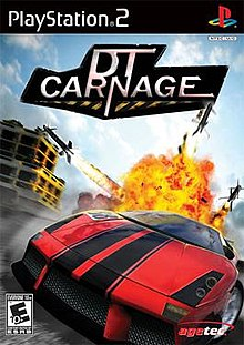 DT Carnage (USA) PS2 ISO