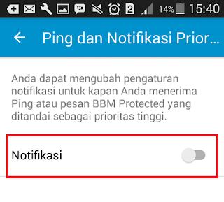 Cara Mudah Menonaktifkan Notifikasi BBM di Android