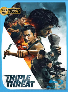 Triple amenaza (Triple Threat) (2019) HD [1080p] Latino [GoogleDrive] SilvestreHD