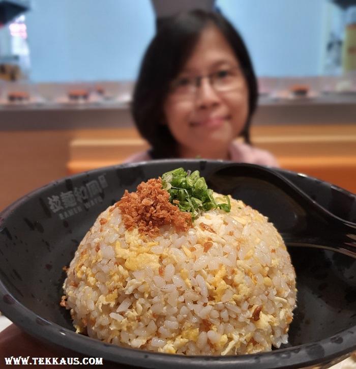 Garlic Fried Rice Japanese Food