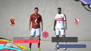 New Teams Added ( Al Ahly SC, Zamalek, Wydad)