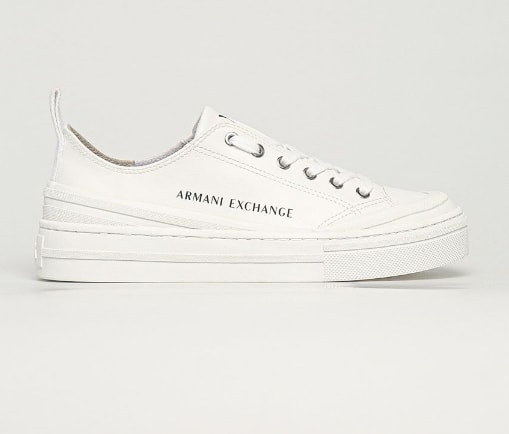 Armani Exchange - Tenisi josi albi de dama