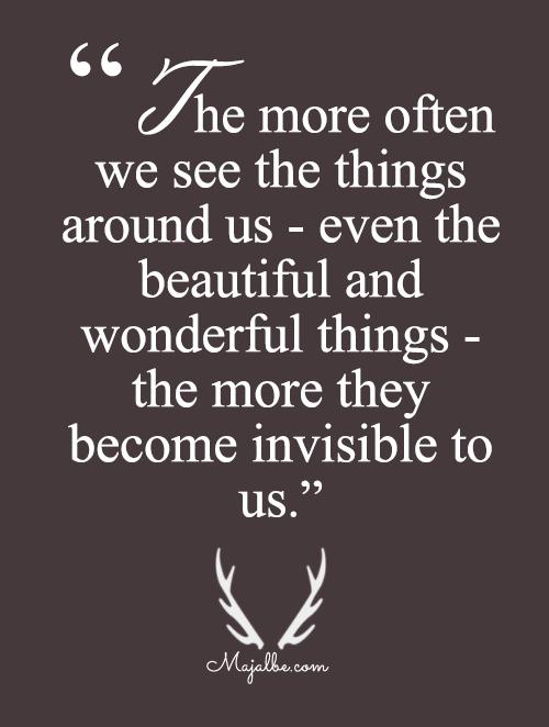 The More Invisible It Come