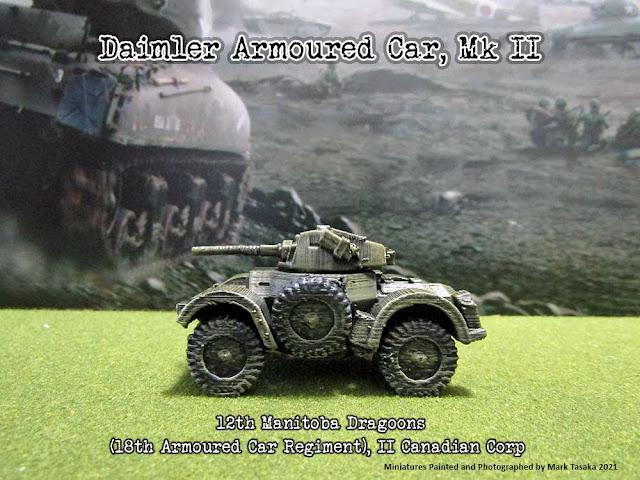 Damilar Armoured Car, 12th Manitoba Dragoons