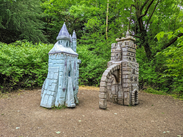 Narnia Trail in Kilbroney Park Northern Ireland