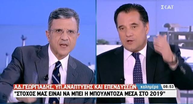 Στα πόσα ψέματα για τις μπουλντόζες στο Ελληνικό «καίγεται» ο Αδ. Γεωργιάδης; – VIDEO