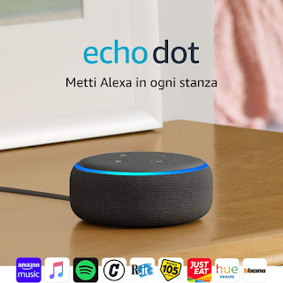 Echo Dot sconti amazon