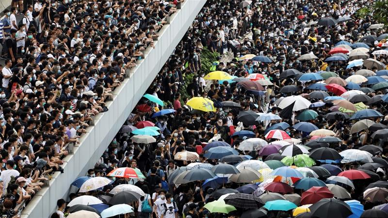 Hong Kong: 100 days of huge rallies, violent clashes
