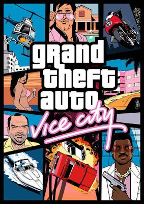 Capa do GTA: Vice City