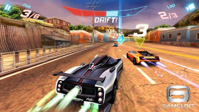 Asphalt 6 Adrenaline Xperia