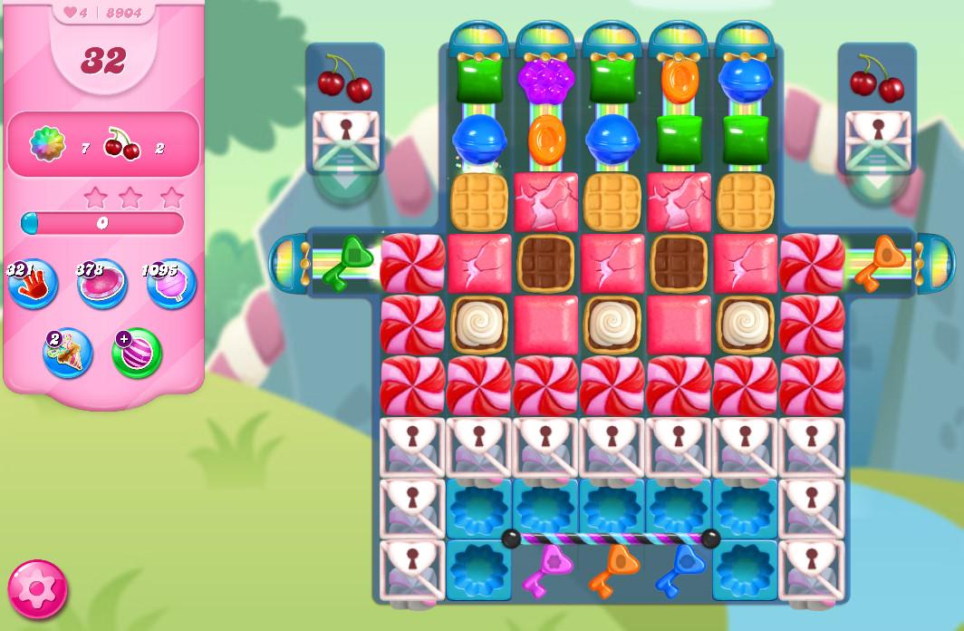 Candy Crush Saga level 8904